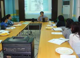 Faculty Colloquium: Humanitarian Reporting (August 3, 2011)