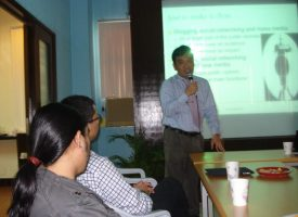 Faculty Colloquium - Professor Arao's Lecture (July 12, 2011)