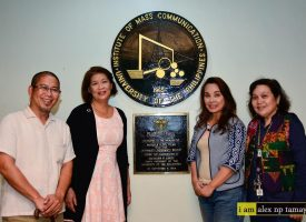 Senator Loren Legarda @ UP CMC