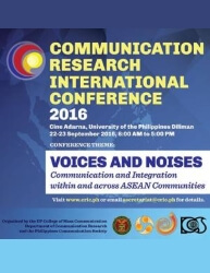 1st International Conference on Communication Research